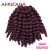 8 inch 80g Jumpy Wand Curl Jamaican Bounce Crochet Hair 22 Roots African Synthetic Braiding Hair Low Temperature Fiber брюки горнолыжные rip curl rip curl ri027emzlc69
