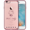 Hello Kitty Apple, 6 / 6с телефона оболочка iPhone6 / 6с мультфильм прозрачная Выдерживает падение защитного рукава оболочка покрытия 4,7 дюйма Rugrats