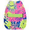 Спидометр спидометр ребенок плавающий дрейф назад kickboard отбиваться пластинчатой доска для детей, чтобы научиться плавать оборудования голубого озера 51,560,164 доска для плавания arena kickboard серебристая