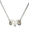 Luo Linglong s925 sterling silver necklace female clavicle chain goat angle simple fashion personality wild couple gift linglong d905 215 75r17 5 135 133l tl