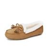Camel женские модели плюс бархатные теплые обувь повседневная обувь ленивый Горох обувь Корейский плоские ступит обувь W74226520 черный 36/230 код