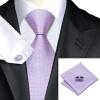 Н-0523 моде мужчины Шелковый галстук набор галстук платок Запонки розовые геометрический набор галстуков для мужчин формальных Свадебный бизнес оптом купить шифер оптом в липецке