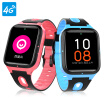 Small Finder Xiaomi Ecological Chain 4G Childrens Phone Watch F2 360 Degree GPS Positioning Video Recording Student Child Positioning Phone Smart Watch Bracelet Boy Girl Blue