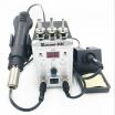 Solder Station 8586 2in1 Electric Soldering Irons Hot Air Gun SMD Rework Soldering Desoldering Welding Machine Repair Tool Kit