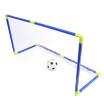 Anjanle Child Portable Double Football Goal Net Set Indoor Outdoor Sport Toy Developmental Game