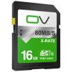 OV SD card 16G 80MB  s memory card class10 high-speed storage SDHC SLR digital camera professional high-definition camera car flash memory card