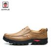 Apple 2017 new Genuine Leather Mens casual shoes Waterproof heighten rubber shoes
