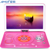 Amoi F1016 10-inch portable mobile DVD player disc player cd opera mobile video game player CD player pink