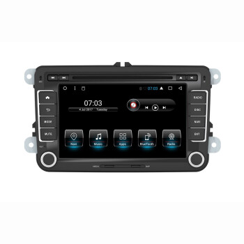 Android 71 Car Stereo Radio screen gps for VW Golf Skoda Passat Seat 1024600 Car CD DVD Player Support Parking Sensor DAB