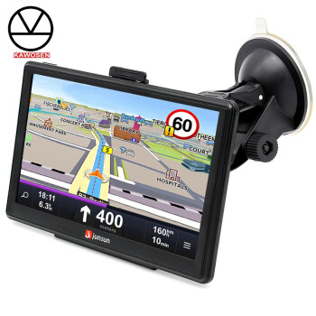 KAWOSEN 7 inch Car GPS Navigation FM MP3MP4 Players North America Map Free Upgrade Truck gps navigators Sat nav automobile