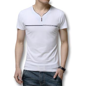 T shirts Men T shirts 2016 Summer Short Sleeves Men T SHIRTS New Fashion Cotton V-Neck Men T Shirts 3 Colors Casual Slim Fits