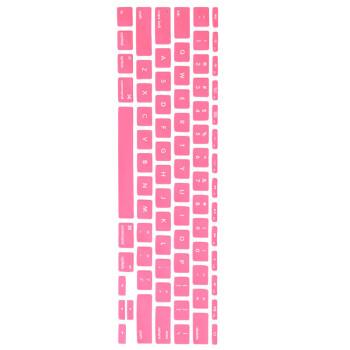 KOOLIFE MacBook Laptop keyboard protective film for Apple MacBook Air Pro13 15 17 inch dedicated keyboard foil dustproof&waterproof - pink