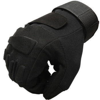 Pioneer All-in-One Gloves Sports Army Specials Fields Outdoor Leisure Fitness Mountaineering Non-slip Anti-Slip Riding Tactical Fighting Gloves Black Eagle Black Full