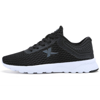 XTEP sports shoes couple models breathable leisure network simple&comfortable breathable women&39s casual shoes black 38 yards