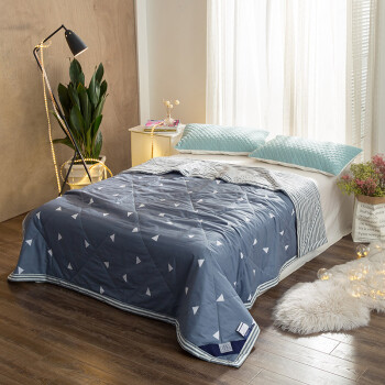 Ying Xin quilts home textile cotton summer was air-conditioning was cool summer was washable machine wash summer pure cotton thin core 150 200cm fresh flower