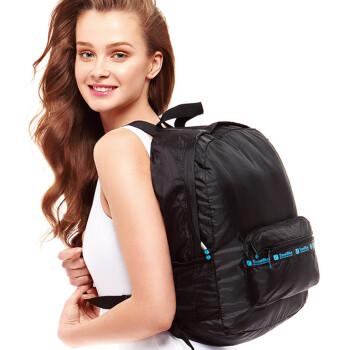 Blue Traveler TRAVEL BLUE Collapsible Skin Bag Backpacker Walking Men & Women Lightweight Lightweight Shoulder Bag