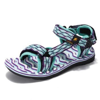 Camel camel camel outdoor couple beach shoes couple lovers Velcro skirt comfortable sandals female A72162611 purple 37