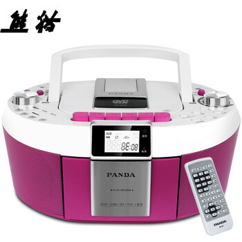 Panda PANDA CD-820 CD player tape machine repeat machine DVD player fetal education machine tape recorder radio card MP3 player audio red