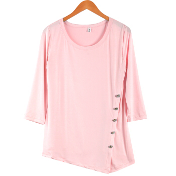 US Seller Fashion Womens Blouses Casual Lady Long Sleeve Tops T-Shirt Dress