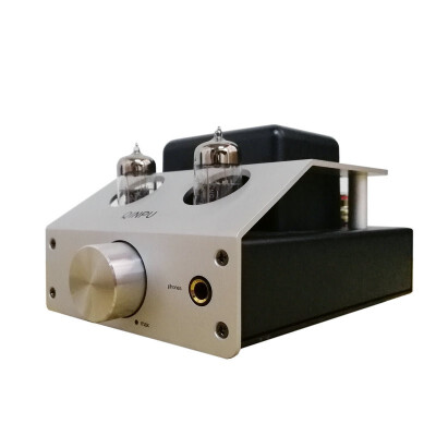 Qinpu Q-5 HiFi Audio tube amplifier headphone Amp for earphone & speakers destop