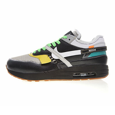 Original New Arrival Authentic Nike Air Max 90 X OFF-WHITE OW Mens Breathable Running Shoes Sport Outdoor Sneakers AA7293-100