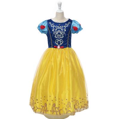 MUABABY Girls Rapunzel Dress Kids Snow White Princess Costume Children Cinderella Aurora Sofia New Year Party Cosplay Dress
