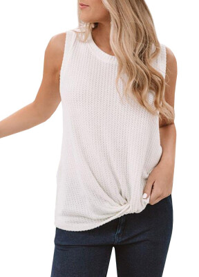 Breathable Round-necked Top