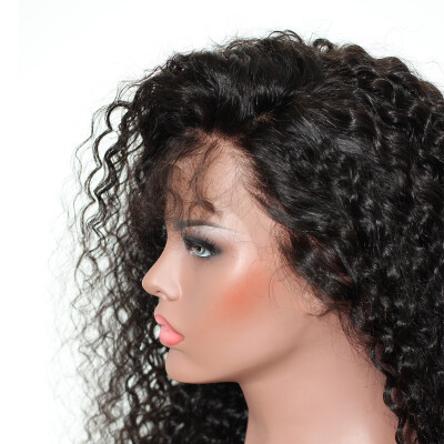 13x6 Lace Front Wig Pre Plucked With Baby Hair 250 Loose Curly Bob Brazilian Full Lace Front Human Hair Wigs Closure Dolago