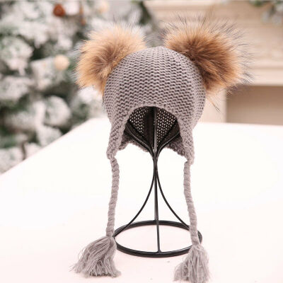 SUNSIOM Cute Toddler Kids Girl&Boy Baby Infant Winter Warm Crochet Knit Hat Beanie Cap