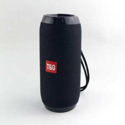 TG117 Bluetooth Outdoor Speaker Waterproof Portable Wireless Column Loudspeaker Box Support TF Card FM Radio Aux Input