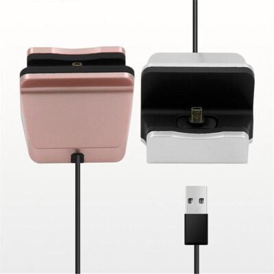 Mzxtby USB Тип C Зарядная док-станция для Samsung GALAXY Примечание 7 / huawei P9 / Xiaomi 5 M5 4 / Зарядное устройство для док-ст