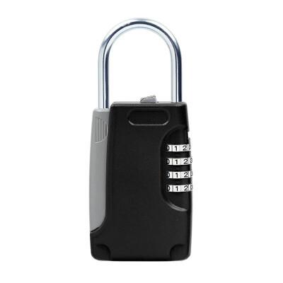 Easy lock beam type password key box zinc alloy black K101BK