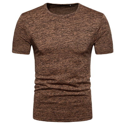 JCCHENFS 2018 Large Size Mens T-Shirt Fashion Stretch Fabric Casual O-Neck Short Sleeve T shirt For Men Brand Summer Cool Tops