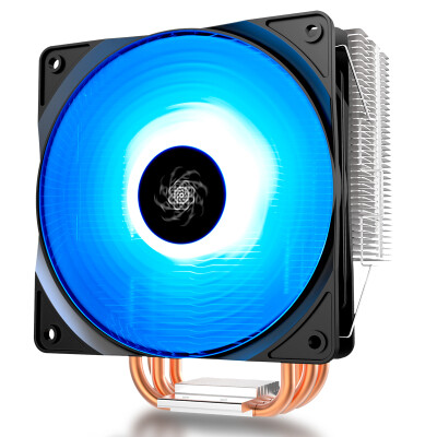 Kyushu Fengshen DEEPCOOL Xuanbing 400 Symphony Edition CPU air-cooled radiator multi-platform support AM4 4 heat pipe intelligent temperature control 12CM fan with silicone grease