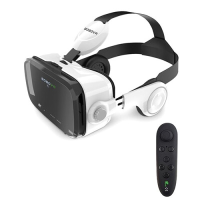 Original xiaozhai BOBOVR Z4 Pro Leather Version 3D Cardboard Immersive Virtual Reality VR Glasses Headset Stereo Headphone for 4