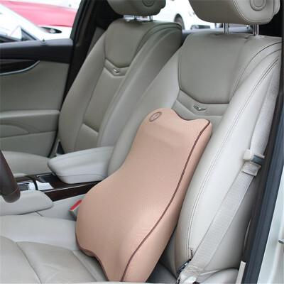 Car headrest lumbar seat back belt cushions memory space cotton