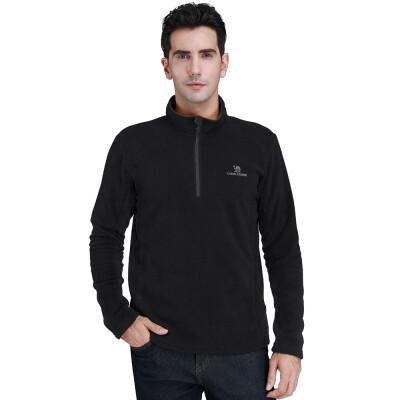 CAMEL CROWN Mens Half Zip Fleece Pullovers Lightweight Long Sleeve Sweater Fleece Jackets Outdoor Sport Sweatshirts Winter