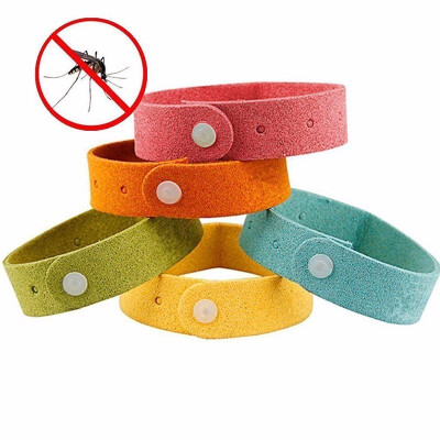 Outdoor Mosquito Repellent Bracelets Non-Toxic 5 pcs