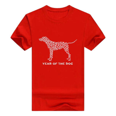 Chinese New Year of Dog 2018 Flowers Gift T-Shirt