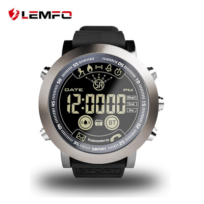LEMFO LF23 Professional Sport Smart Watch Men 121 Inch Big Screen IP68 Waterproof Support Swimming 610Mah 33 Months Standby