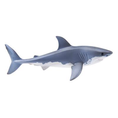 [Супермаркет] Jingdong Сил Шлех модель игрушки детей имитационная модель животных морских животных просветлению познавательные обучающие игрушки - игрушки SCHC14700 белая акула
