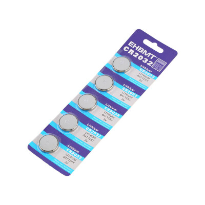 5 x Lithium Battery 3V CR2032 3 Volt Coin Button Cell Battery