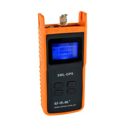 Chinese fir wood SML-OP6 optical fiber power meter tester optical fiber tester optical power tester