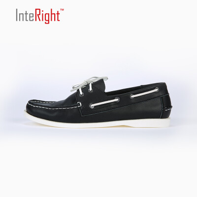 INTERIGHT Men s Mark Line Sailing Single Casual Shoes