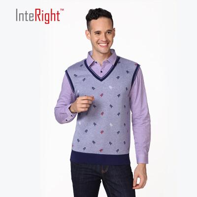 INTERIGHT2017 зимние свитера M свитеры и термобелье поддельные два серый шаблон л