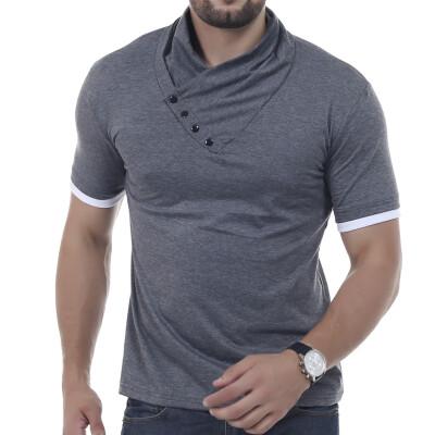 Male 2017 Brand Short Sleeve New Arrival Cotton T Shirt O-Neck Slim Men T-Shirt Tops Fashion Mens Tee Shirt T Shirts