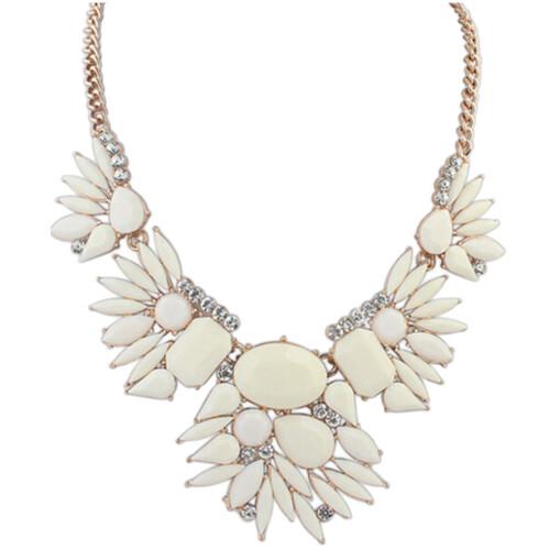 YAZILIND О себе моды Смола Коренастый  Биб подвеска колье ожерелье ювелирные изделия для женщин