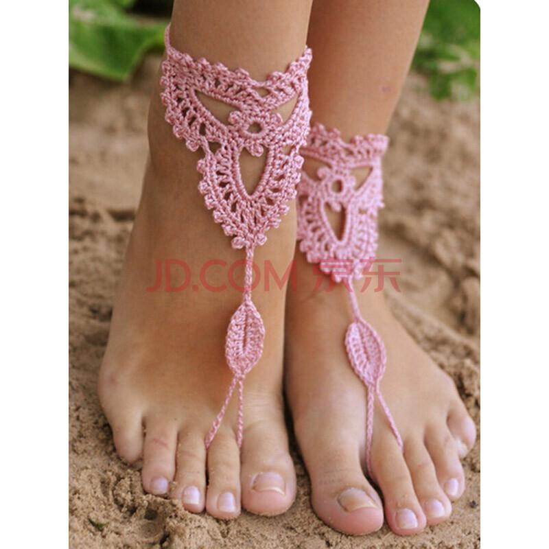 Вязанные ноги крючком