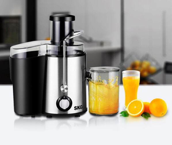 SKG GS-310L Stainless Steel Wide Mouth Juicer Liquidizer on JD