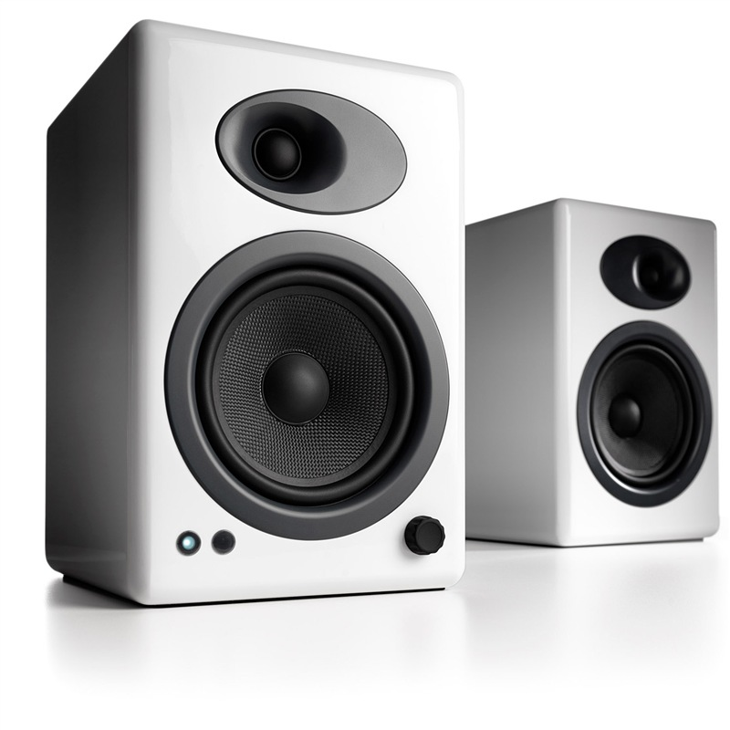 JD Коллекция Белый глянцевый дефолт звук двигатель audioengine a5 w постоянная книжная полка активного динамика сверхтонкий